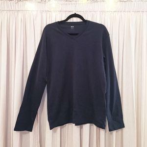 NAVY Uniqlo long sleeve shirt